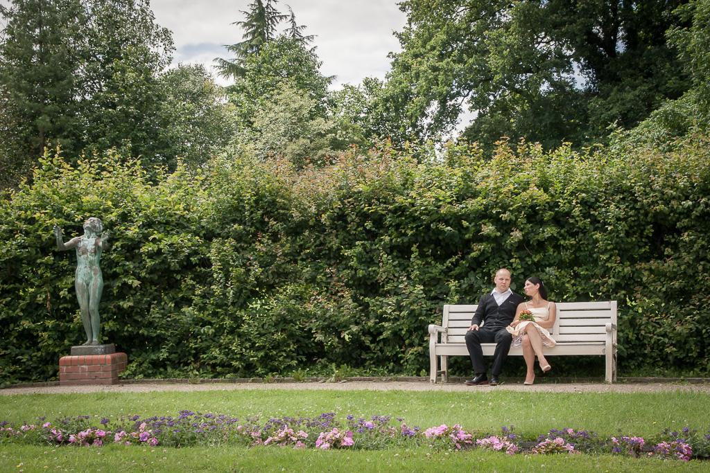 Hochzeitfotos im botanischen Garten Berlin Dahlem - Hochzeit in Berlin (Hochzeitsfotograf Münster)