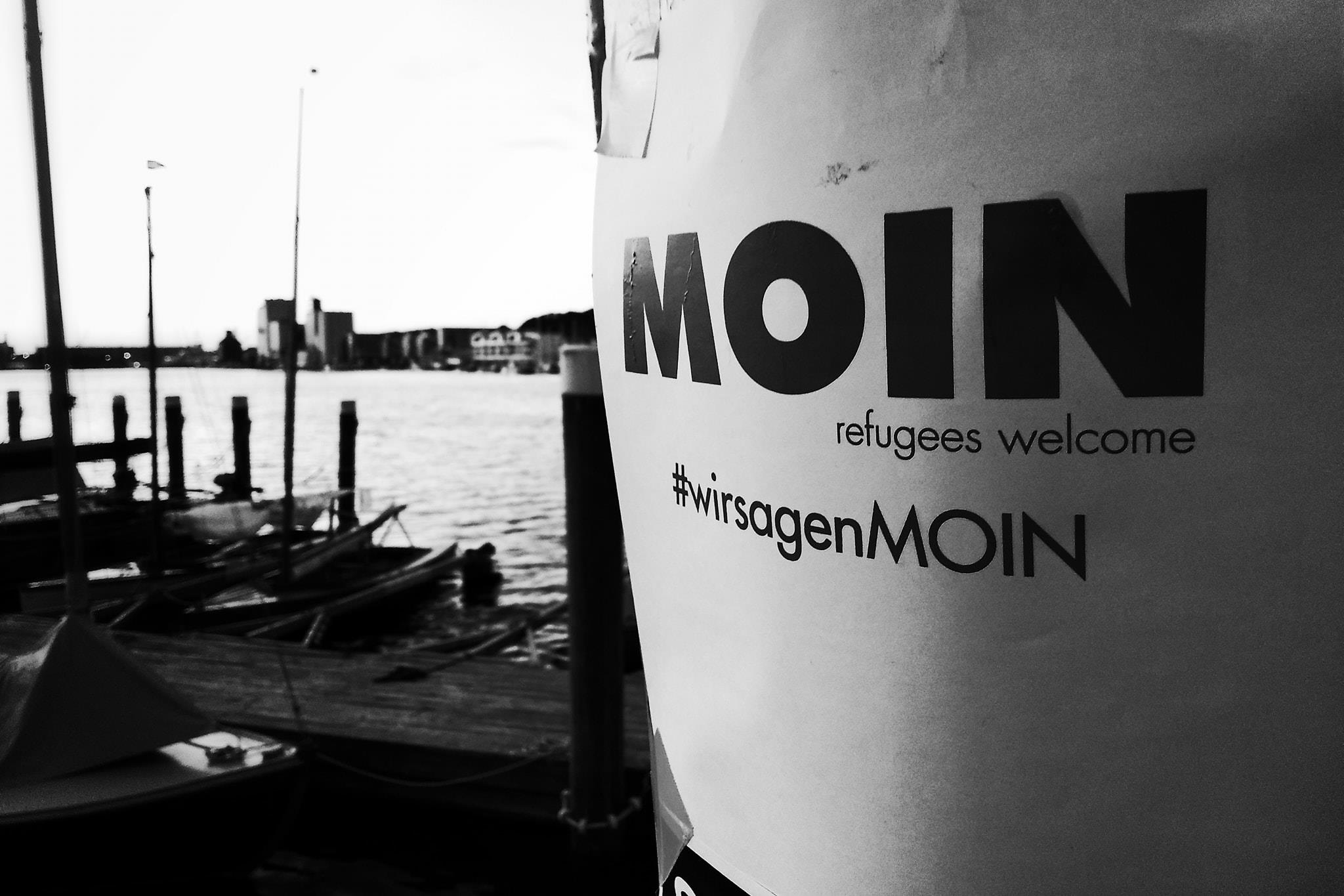 Wir sagen Moin. #refugees welcome